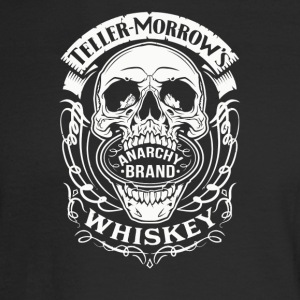 ANARCHY BRAND WHISKEY - Men's Long Sleeve T-Shirt