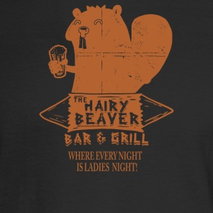The Hairy Beaver Bar - Men's Long Sleeve T-Shirt