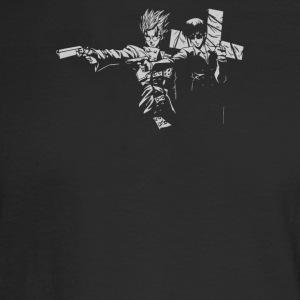 Trigun Fiction - Men's Long Sleeve T-Shirt