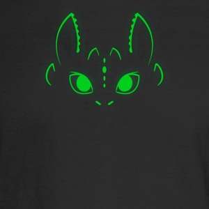 Neon Toothless - Men's Long Sleeve T-Shirt
