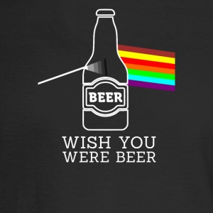 wish you were beer - Men's Long Sleeve T-Shirt