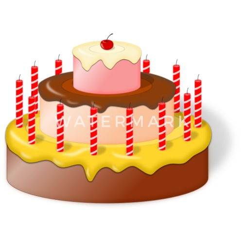 Birthday Cake By Alexwestshop Spreadshirt