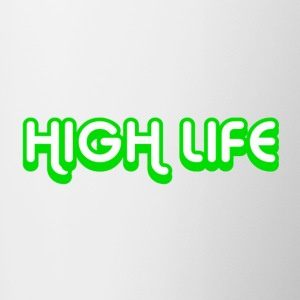 High Life Neon Green - Contrast Coffee Mug