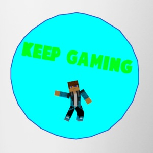 Keep Gaming Picture - Contrast Coffee Mug