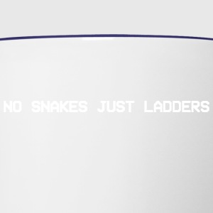 No snakes just ladders - Contrast Coffee Mug