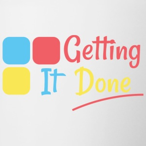 Getting It Done - Contrast Coffee Mug