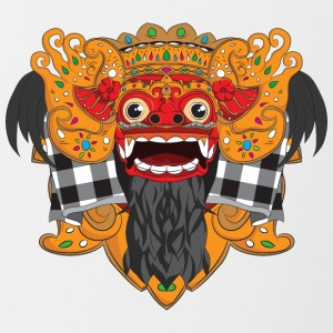 The Barong Mask - Contrast Coffee Mug