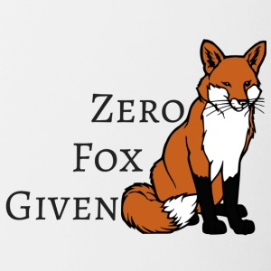 Zero Fox Given two - Contrast Coffee Mug