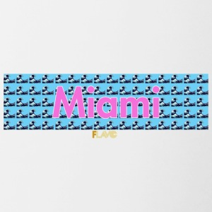 Miami Wave - Contrast Coffee Mug