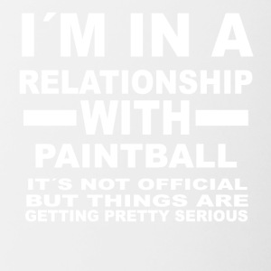 relationship with PAINTBALL - Contrast Coffee Mug