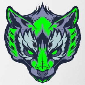 The Green wolf - Contrast Coffee Mug