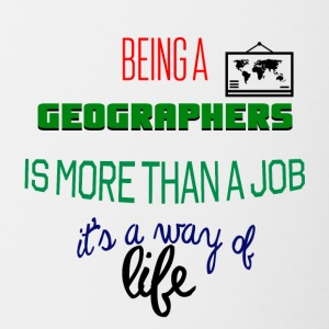 Being geographers - Contrast Coffee Mug