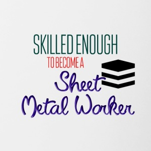 Sheet Metal Worker - Contrast Coffee Mug