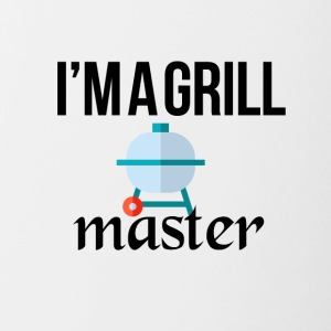 The grill master - Contrast Coffee Mug