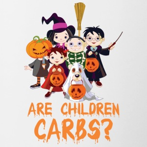 Are Children Carbs Halloween - Contrast Coffee Mug