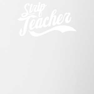 Strip Teacher - Contrast Coffee Mug