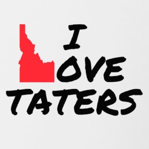 I love Taters - Contrast Coffee Mug