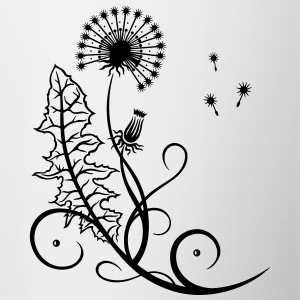Meadow, dandelion, summer and spring. - Contrast Coffee Mug