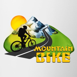 Mountain Bike - Contrast Coffee Mug