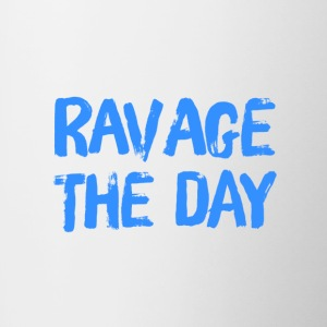 Ravage the Day - Contrast Coffee Mug