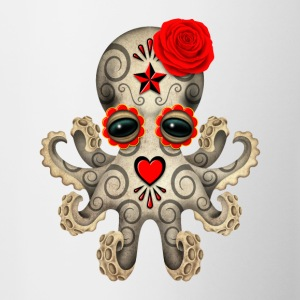 Red Sugar Skull Octopus