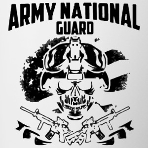 Army National Guard shi - Contrast Coffee Mug
