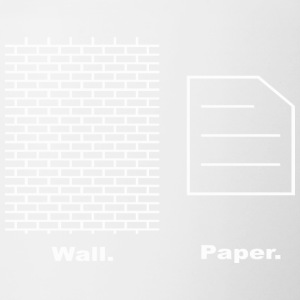 Wall and Paper - Contrast Coffee Mug