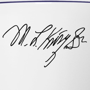 Martin Luther King Sr Signature - Contrast Coffee Mug