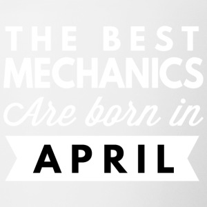 The best Mechanics are born in April - Contrast Coffee Mug