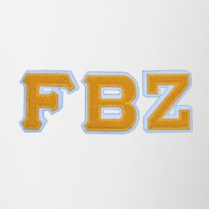 Flatbush Zombies Collegiate FBZ Logo - Contrast Coffee Mug