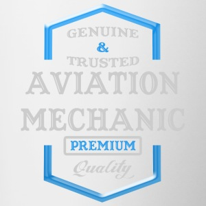 Aviation Mechanic Logo - Contrast Coffee Mug
