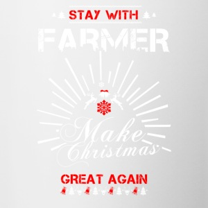 Stay with Farmer T Shirts - Contrast Coffee Mug
