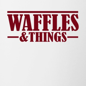 Waffles and things - Contrast Coffee Mug