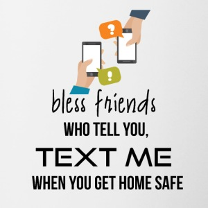 Bless friends - Contrast Coffee Mug