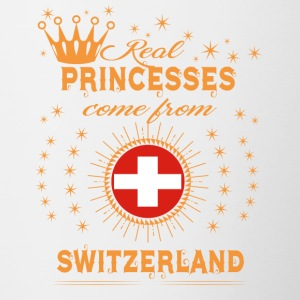 love princesses come from SWITZERLAND - Contrast Coffee Mug