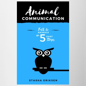 Animal Communication Book Cover - Contrast Coffee Mug