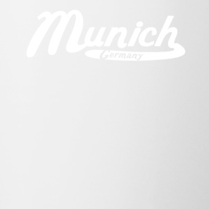 Munich Germany Vintage Logo - Contrast Coffee Mug