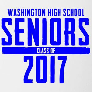 Washington High School Seniors Class of 2017 - Contrast Coffee Mug