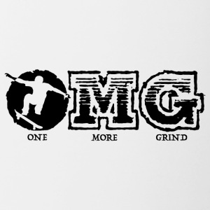 OMG! ONE MORE GRIND! - Contrast Coffee Mug