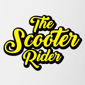 Scooter-Rider - Contrast Coffee Mug