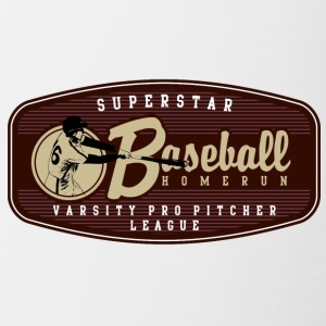 SUPERSTAR BASEBALL HOMERUN - Contrast Coffee Mug