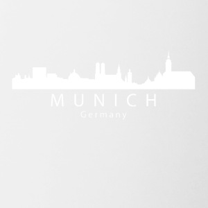 Munich Germany Skyline - Contrast Coffee Mug
