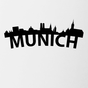Arc Skyline Of Munich Germany - Contrast Coffee Mug