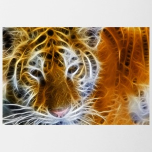 tiger glow - Contrast Coffee Mug