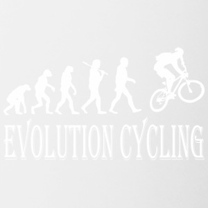 Evolution Cycling Cycle - Contrast Coffee Mug