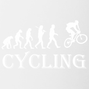 Cycle Evolution Cycling - Contrast Coffee Mug