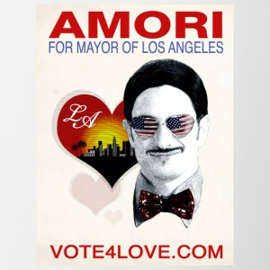 Amori for Mayor of Los Angeles eco friendly shirt - Contrast Coffee Mug