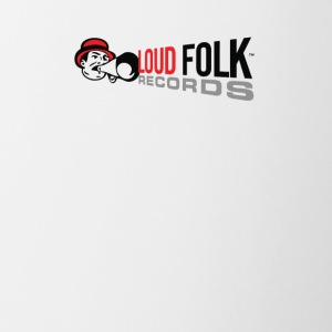 Loud Folk Records Logo - Contrast Coffee Mug
