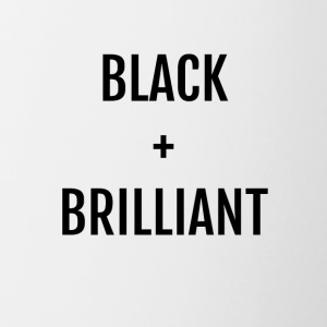 Black + Brilliant - Contrast Coffee Mug