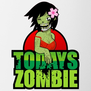 Sexy Zombie | Today's Zombie - Contrast Coffee Mug
